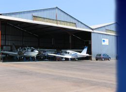 Photos of Maintenance Services done on light fixed wing aircraft by Lowveld Aircraft Services at Nelspruit Airfield, Mpumalanga, South Africa